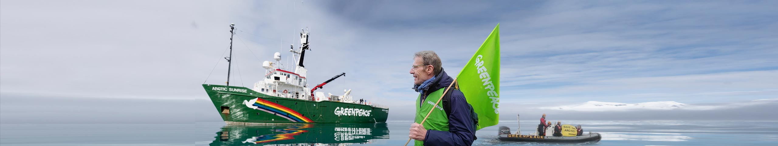 Lambert Wilson supports Greenpeace for the environment